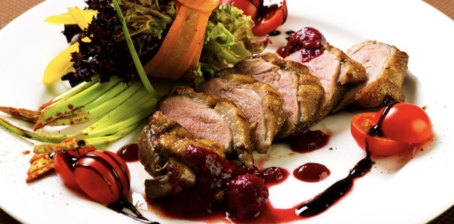 Duck Dish with Vegetables in Paris