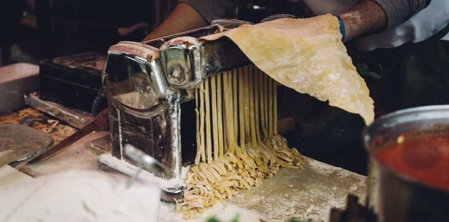 Fresh Pasta by Chef Giuseppe in Florence