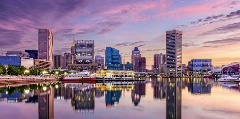 Baltimore Maryland Skyline