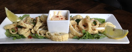 Fennel Crusted Calamari