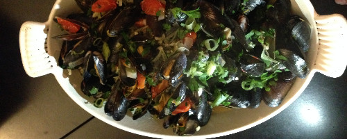 Mussels (served any style)