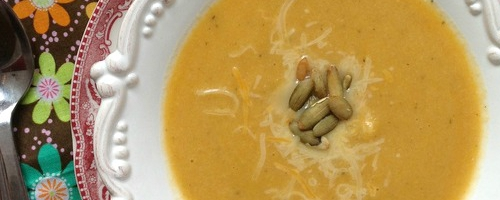 Potage courge butternut