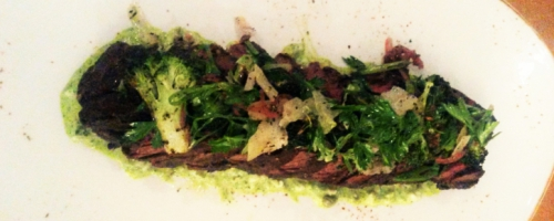 Roasted Hanger Steak