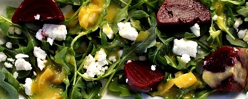 Pickled beet salad